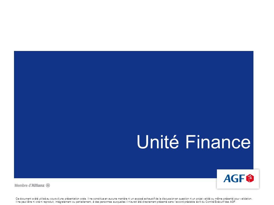 Unité Finance