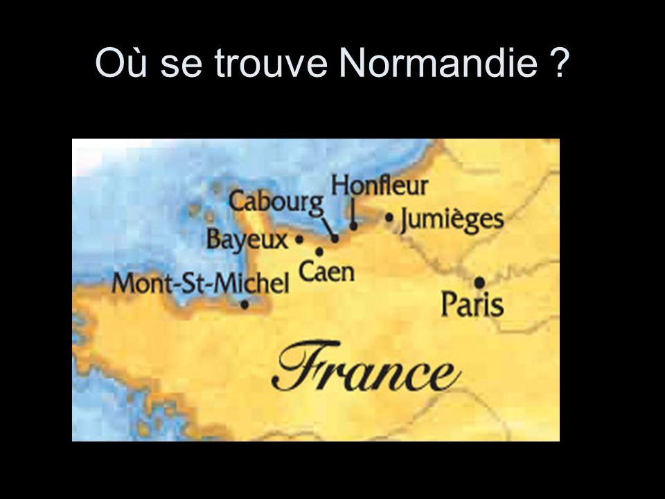Où se trouve Normandie