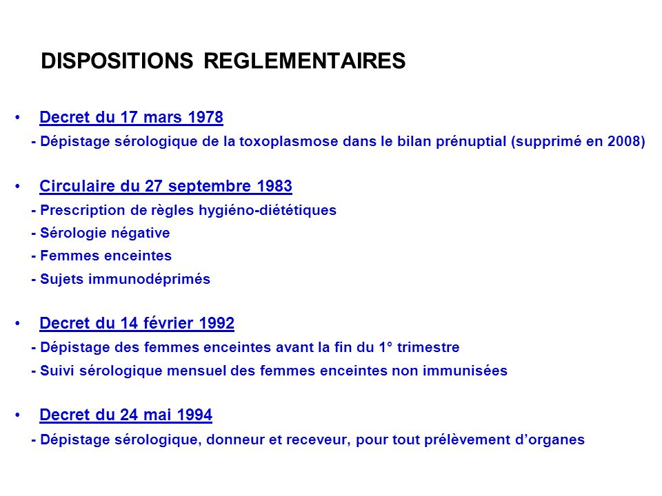 DISPOSITIONS REGLEMENTAIRES