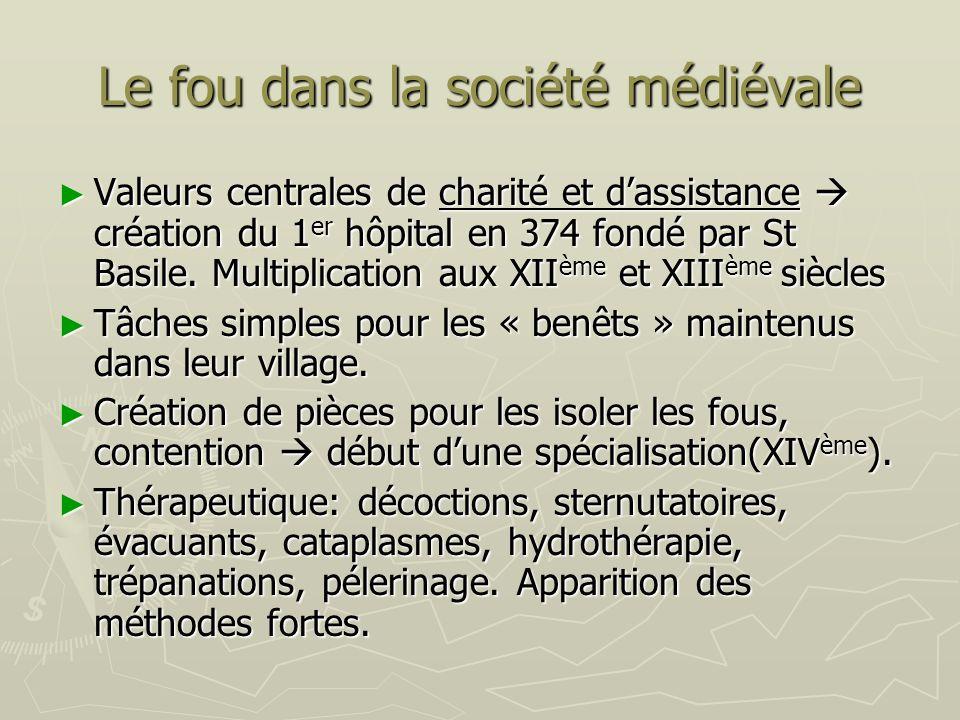 Le fou dans la société médiévale