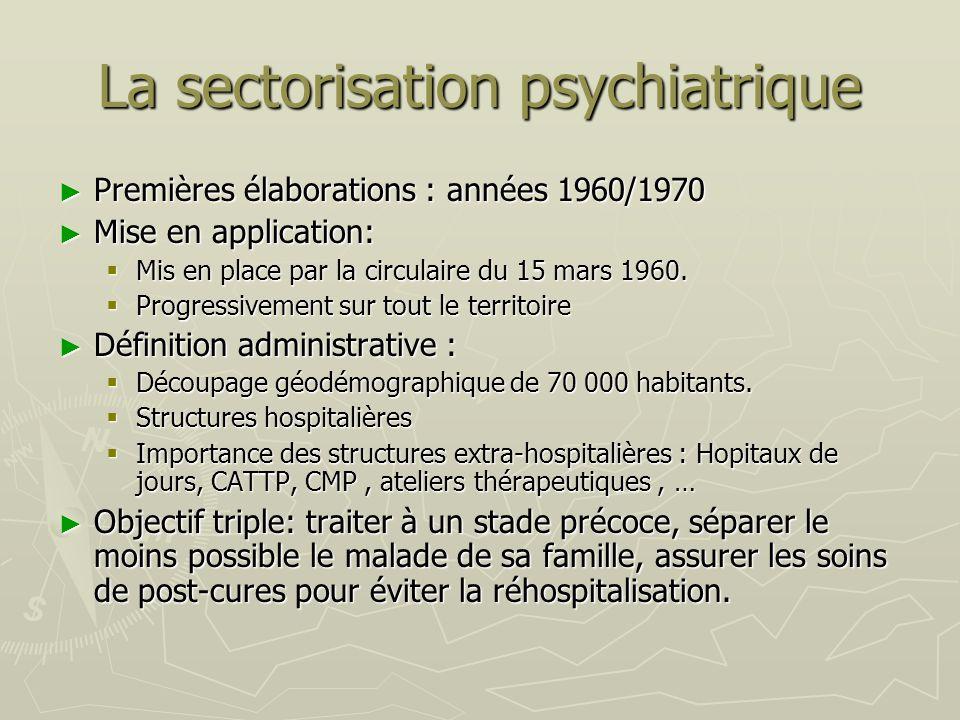 La sectorisation psychiatrique