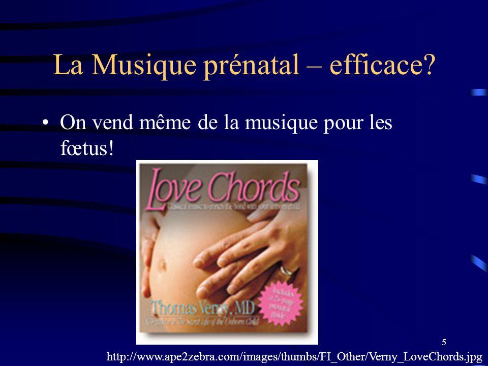 La Musique prénatal – efficace
