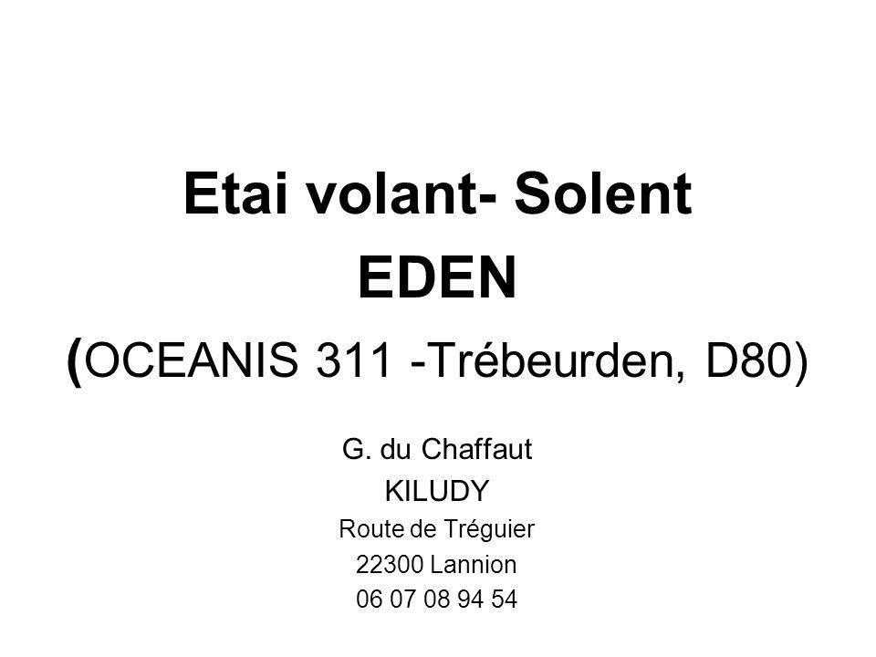 Etai volant- Solent EDEN (OCEANIS 311 -Trébeurden, D80) G