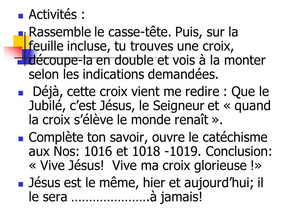 Activités :