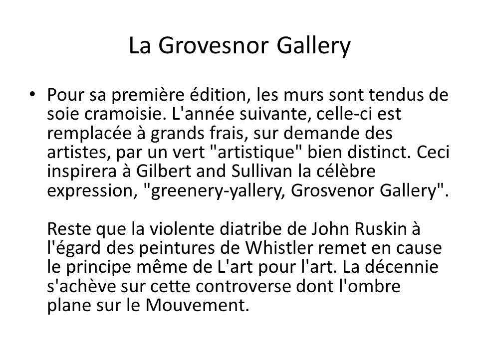 La Grovesnor Gallery