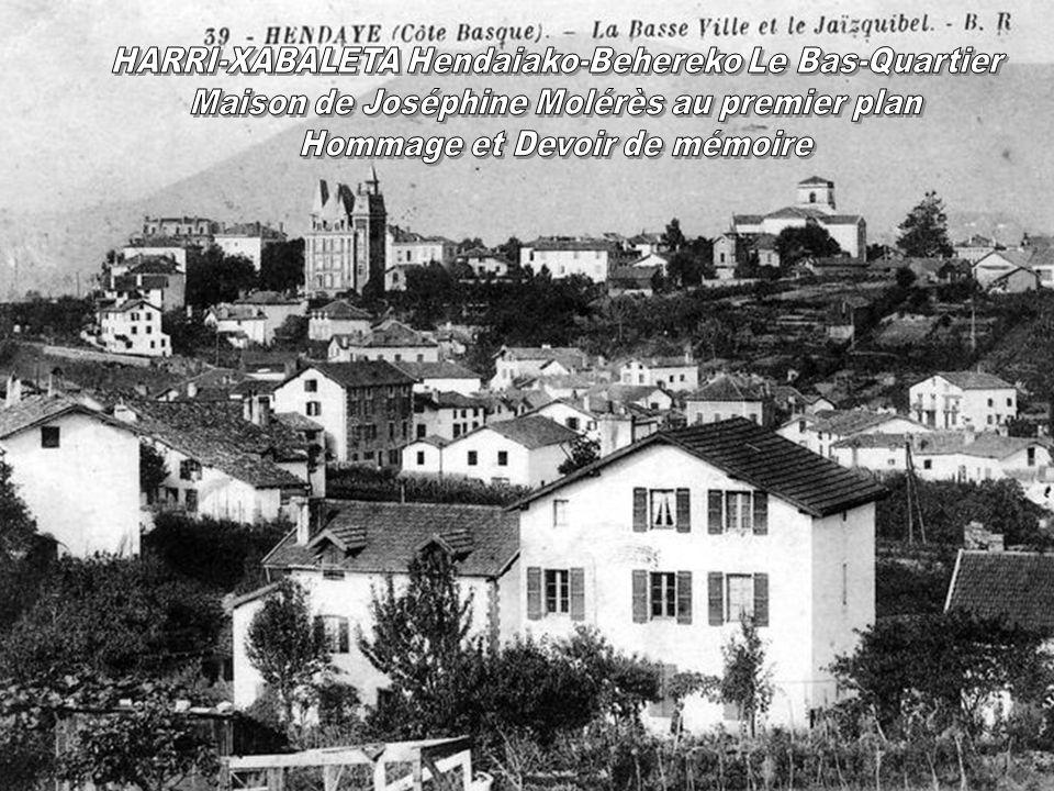 HARRI-XABALETA Hendaiako-Behereko Le Bas-Quartier