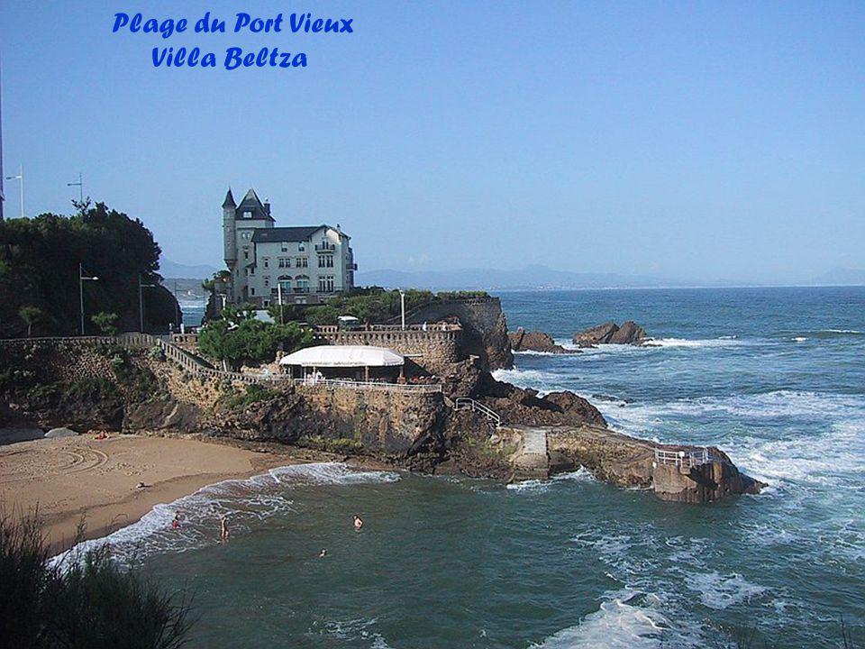Plage du Port Vieux Villa Beltza