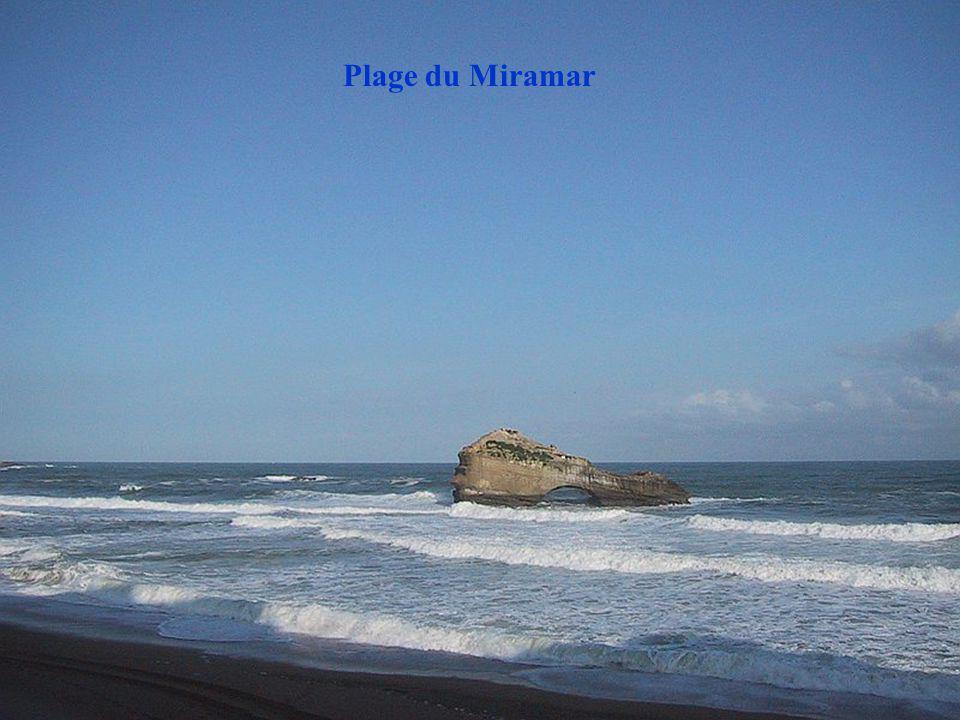 Plage du Miramar