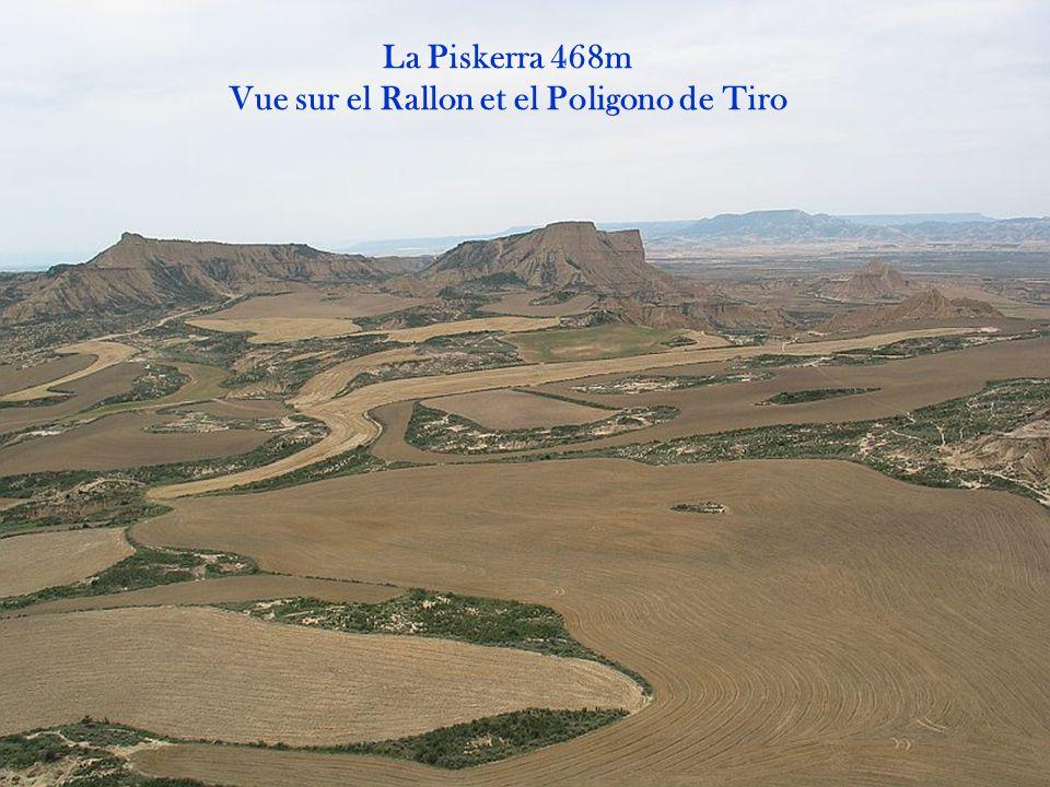 Vue sur el Rallon et el Poligono de Tiro