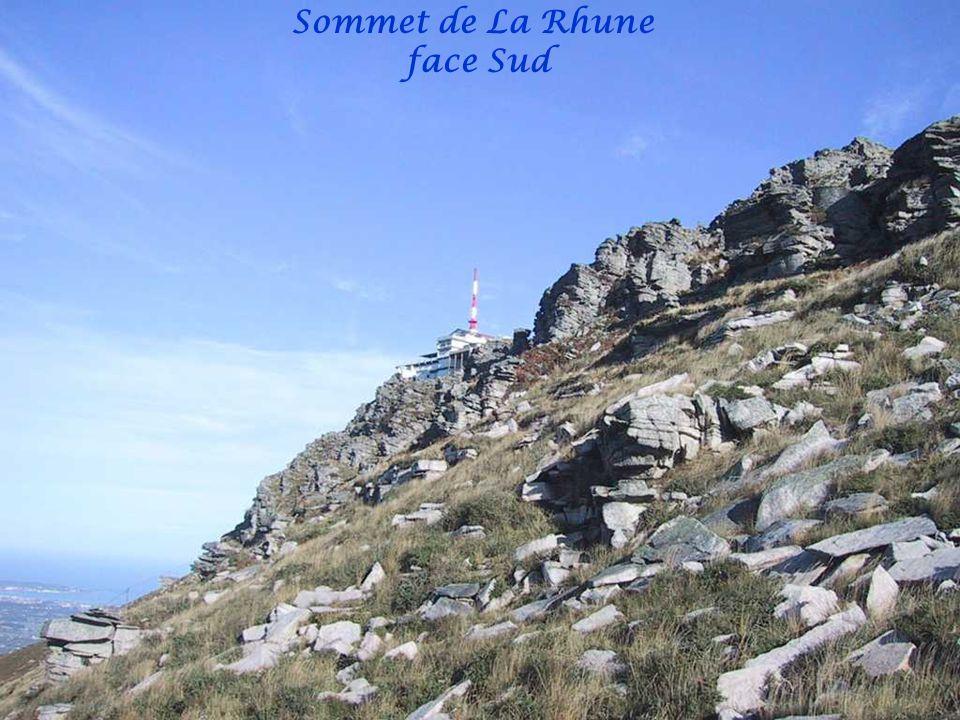 Sommet de La Rhune face Sud