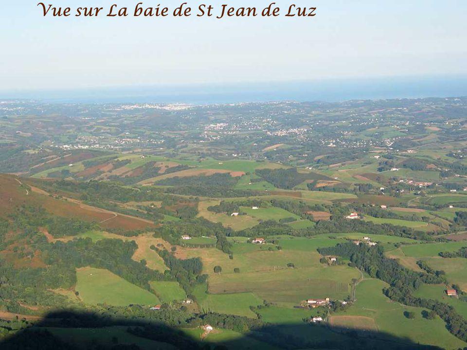 Vue sur La baie de St Jean de Luz