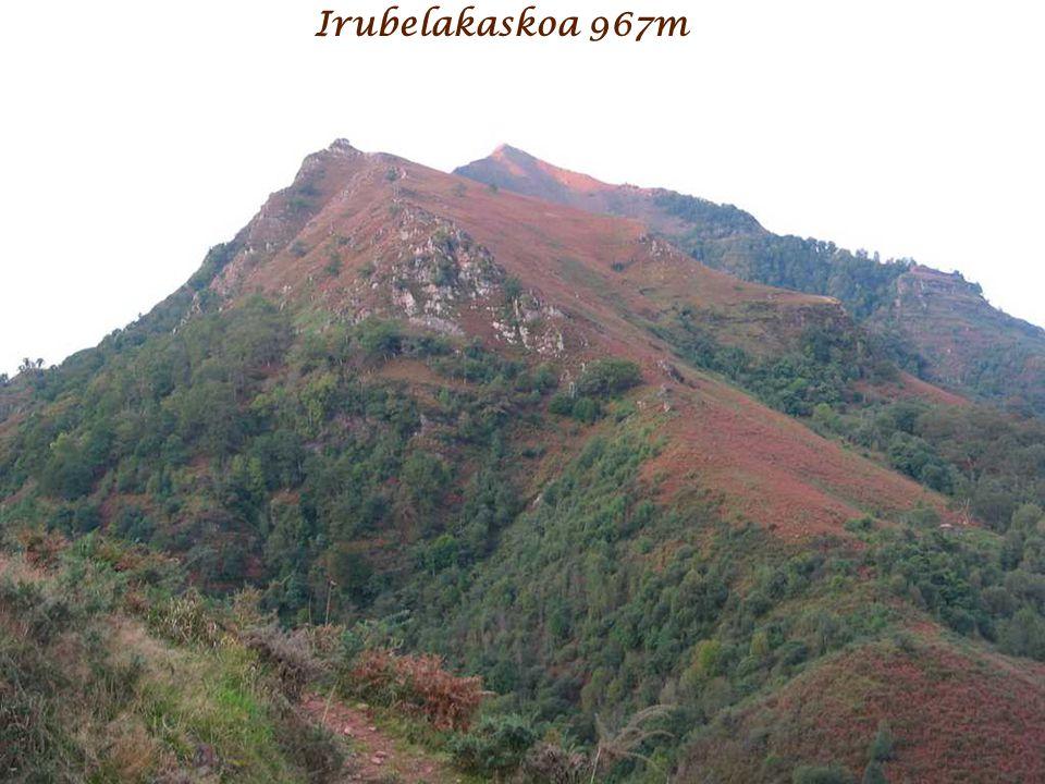 Irubelakaskoa 967m Mont Balerdi Face Sud