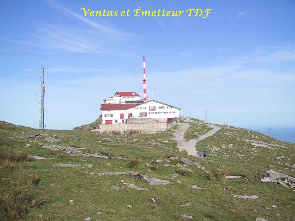 Ventas et Émetteur TDF
