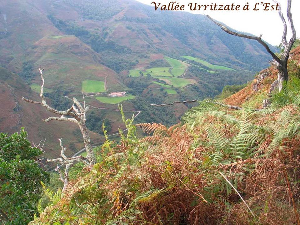 Vallée Urritzate à L'Est