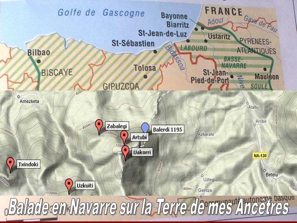 Balade en Navarre sur la Terre de mes Ancêtres