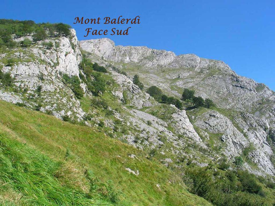 Mont Balerdi Face Sud