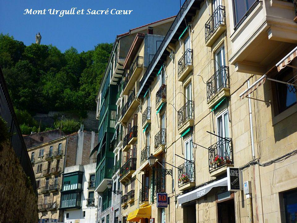 Mont Urgull et Sacré Cœur