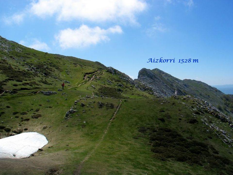 Aizkorri 1528 m