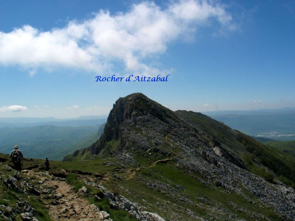 Rocher d'Aitzabal