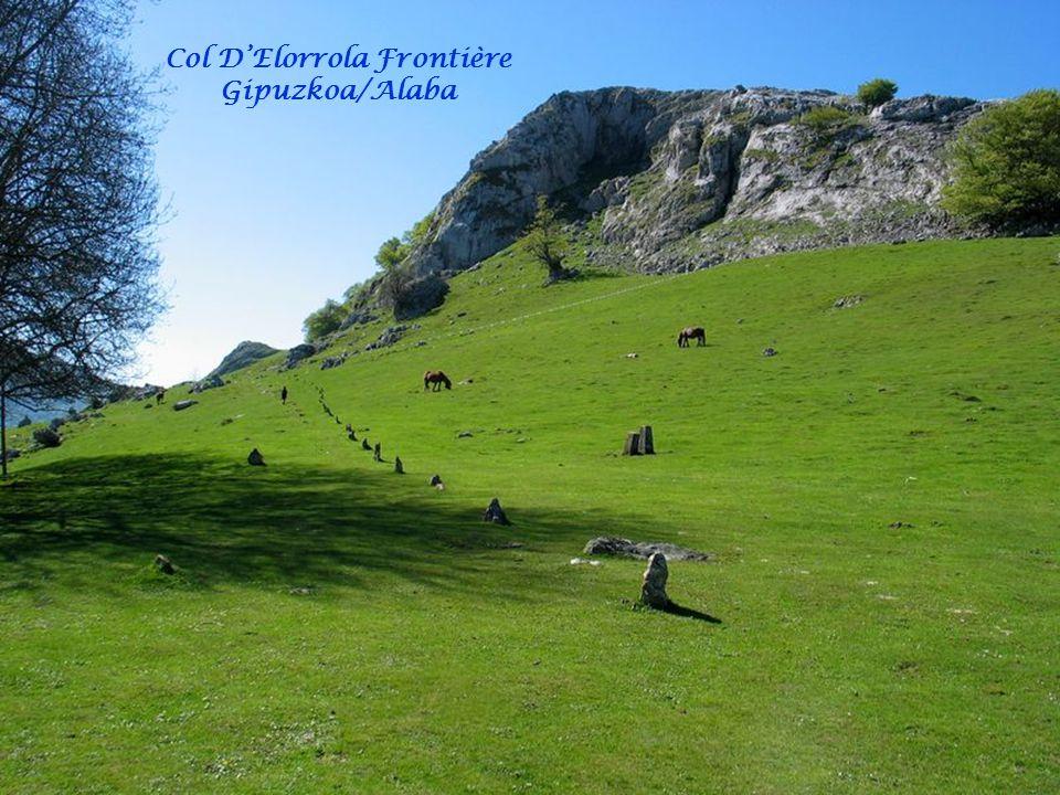 Col D'Elorrola Frontière Gipuzkoa/Alaba