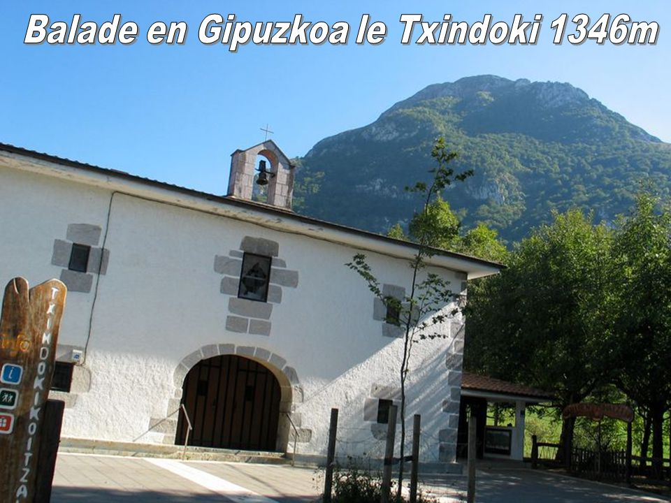 Balade en Gipuzkoa le Txindoki 1346m