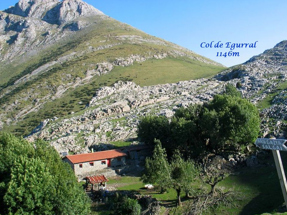 Col de Egurral 1146m
