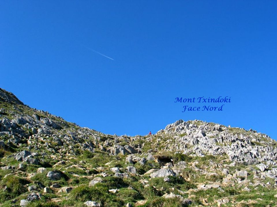 Mont Txindoki Face Nord