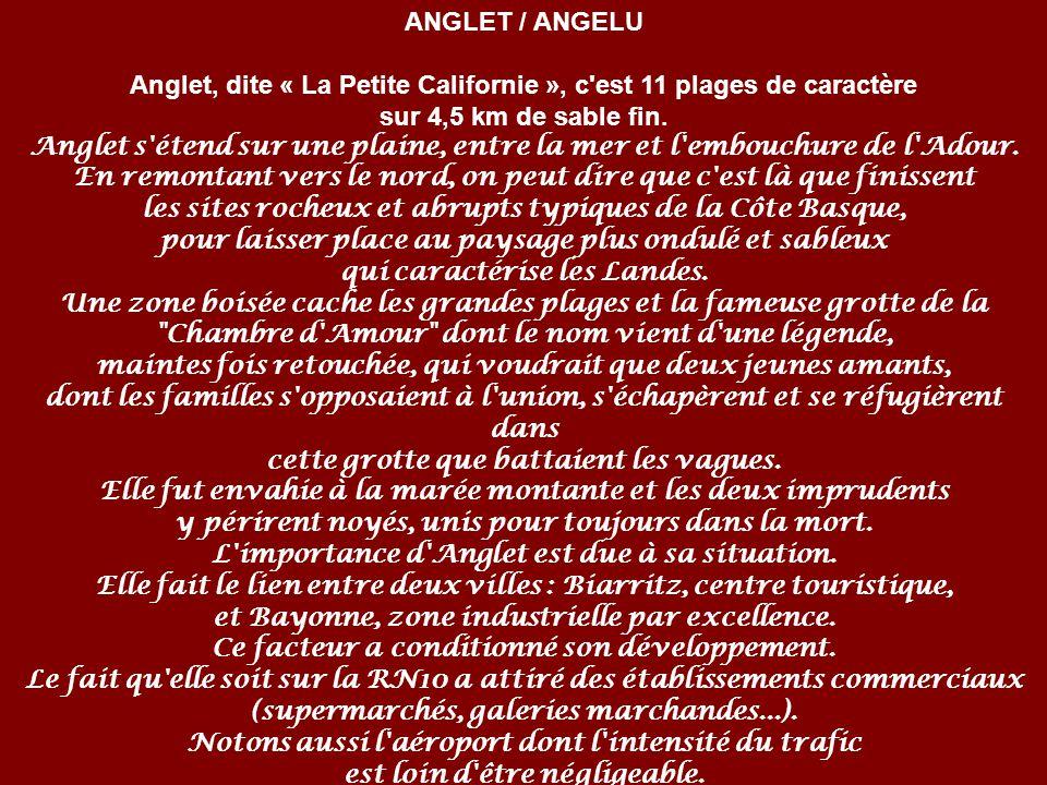 Zorionak ANGLET / ANGELU