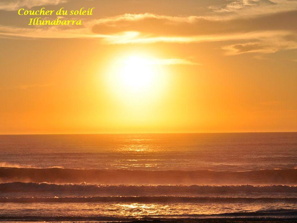Coucher du soleil Illunabarra