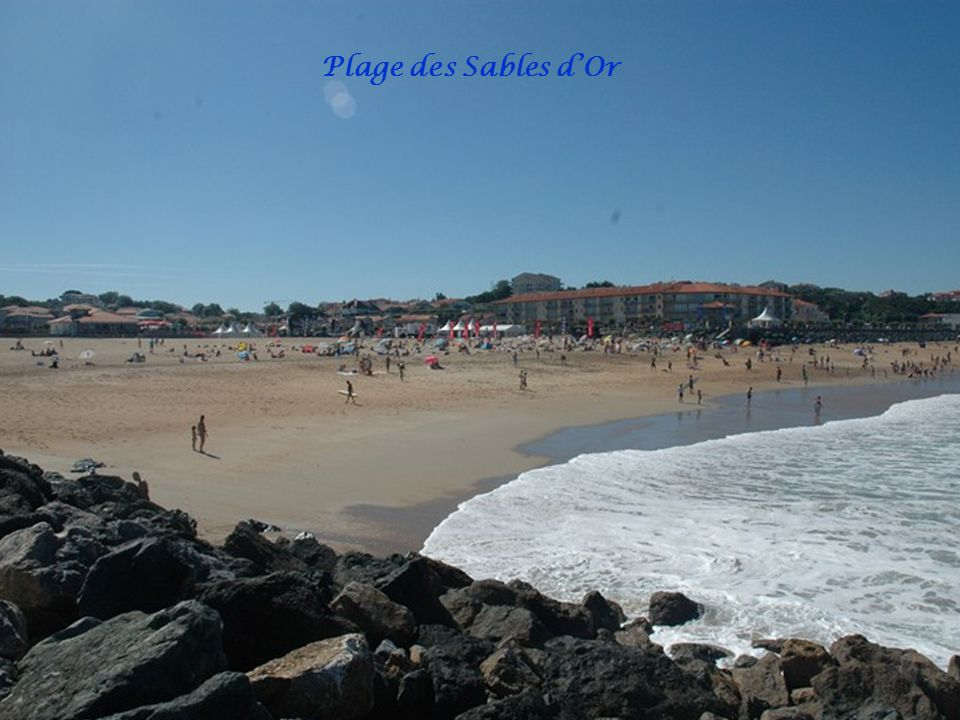 Plage des Sables d'Or