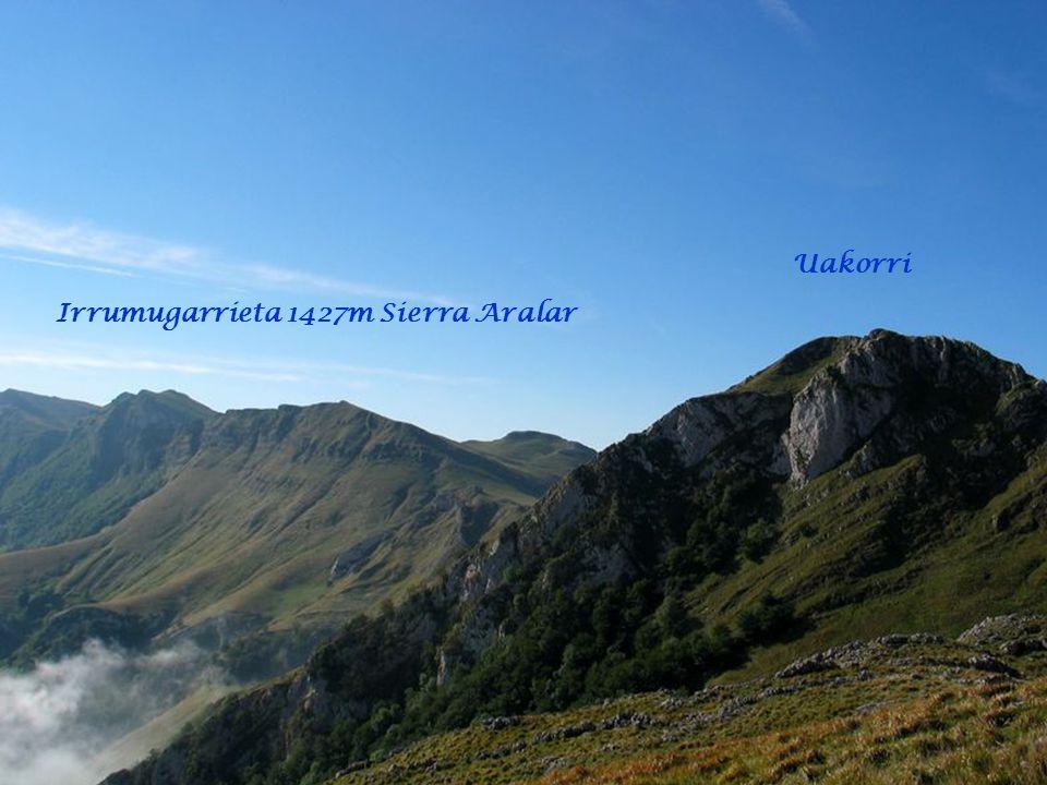 Uakorri Irrumugarrieta 1427m Sierra Aralar