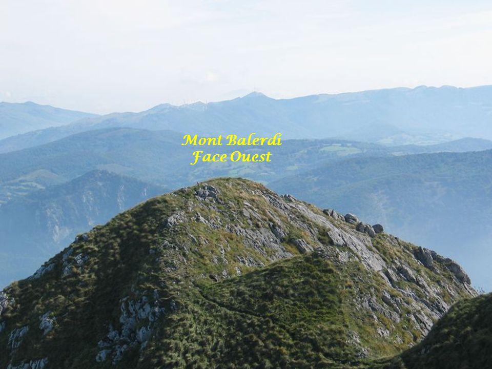 Mont Balerdi Face Ouest