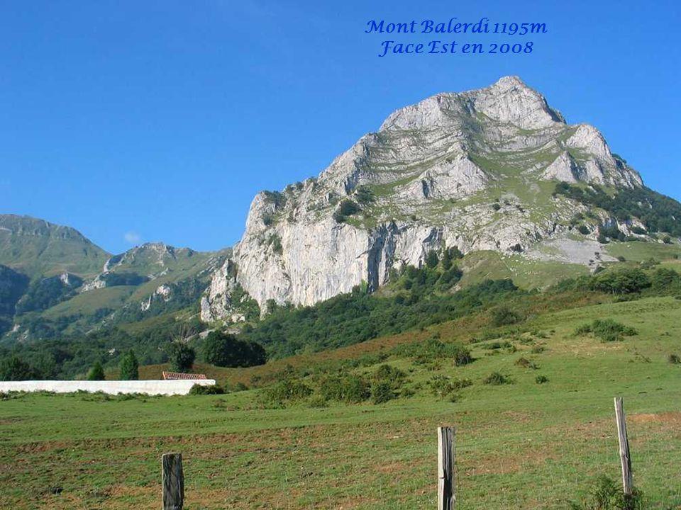 Mont Balerdi 1195m Face Est en 2008