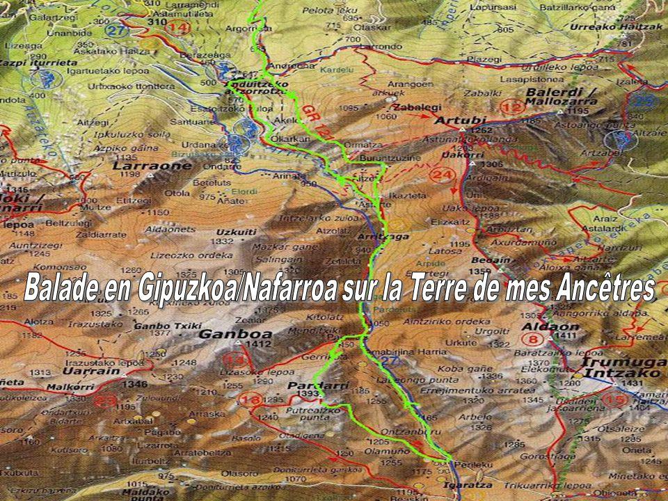 Balade en Gipuzkoa/Nafarroa sur la Terre de mes Ancêtres