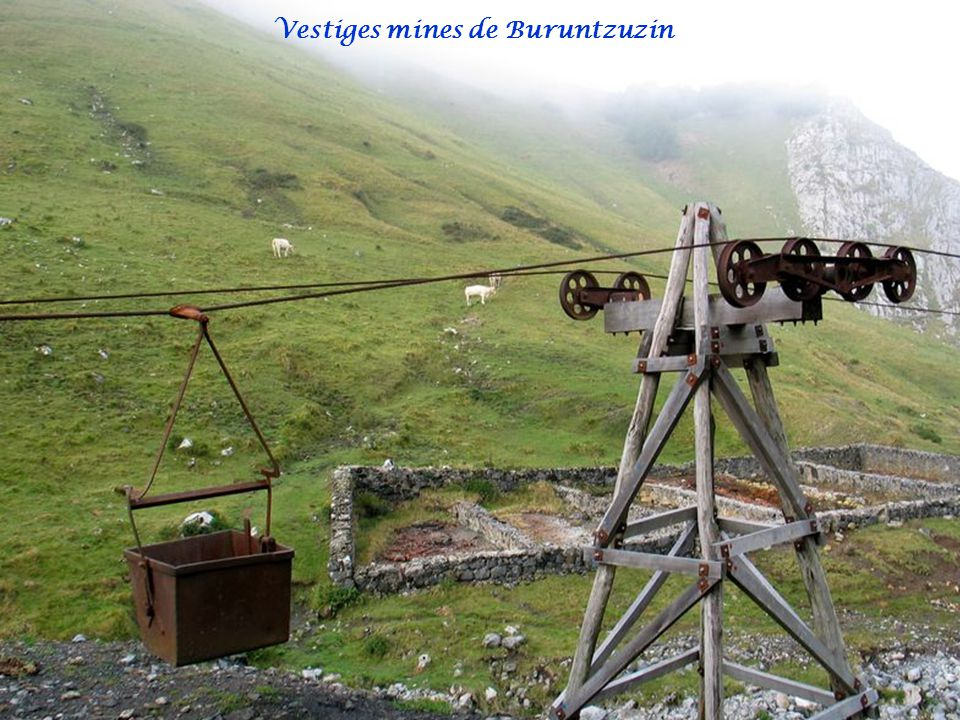 Vestiges mines de Buruntzuzin