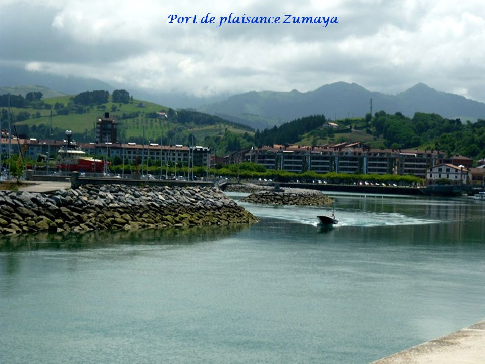 Port de plaisance Zumaya