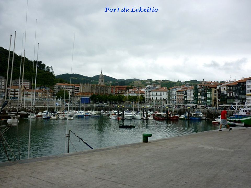 Port de Lekeitio Zorionak