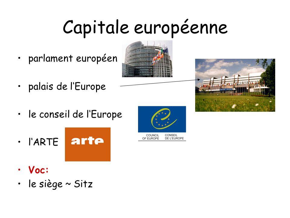 Capitale européenne parlament européen palais de l'Europe