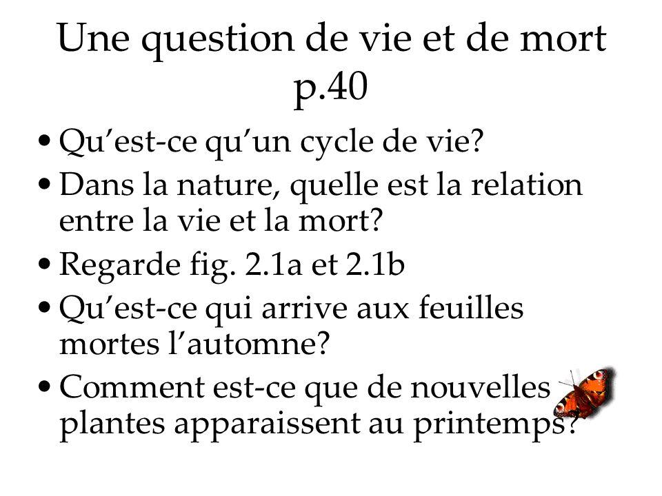 Une question de vie et de mort p.40