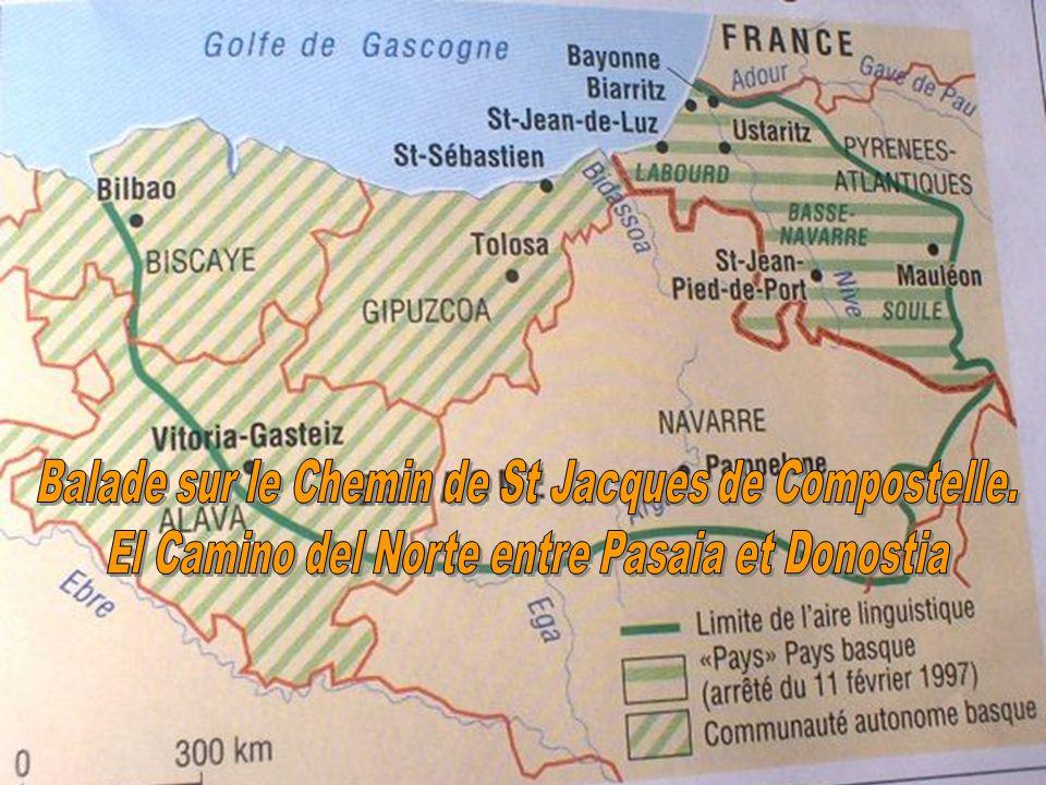 Balade sur le Chemin de St Jacques de Compostelle.