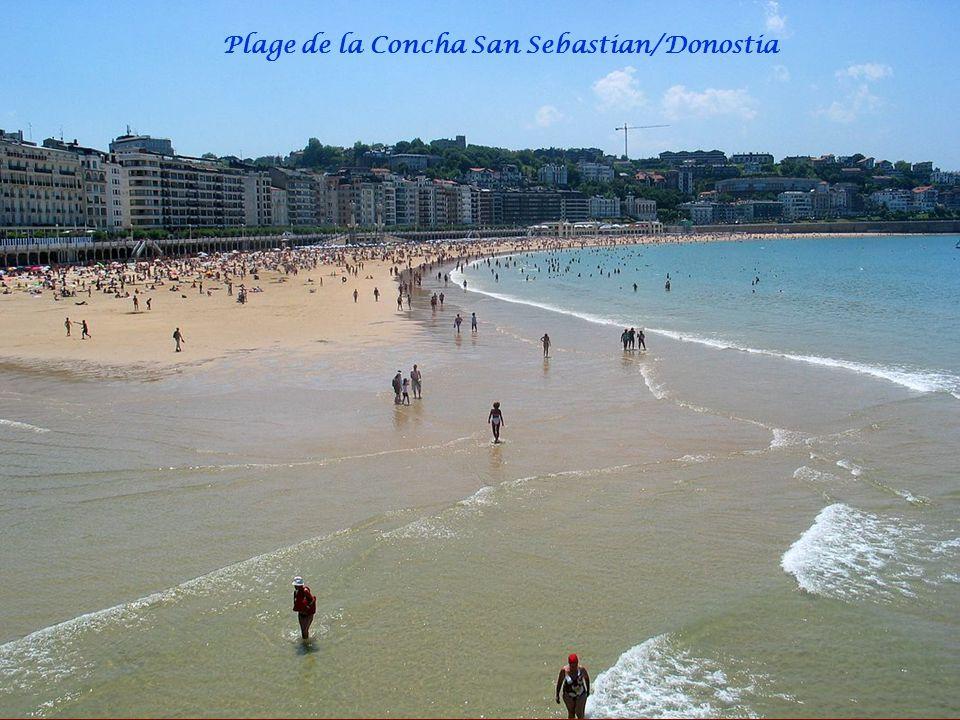 Plage de la Concha San Sebastian/Donostia