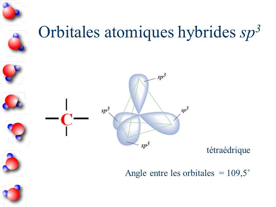Orbitales atomiques hybrides sp3