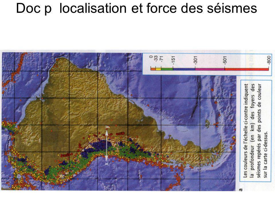 Doc p localisation et force des séismes