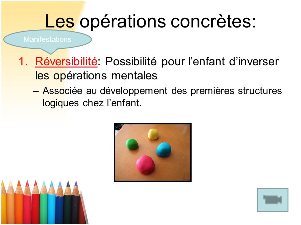 Les opérations concrètes: