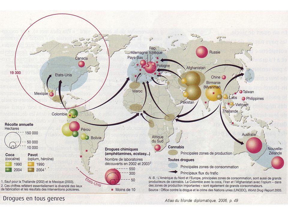 Atlas du Monde diplomatique, 2006, p. 49