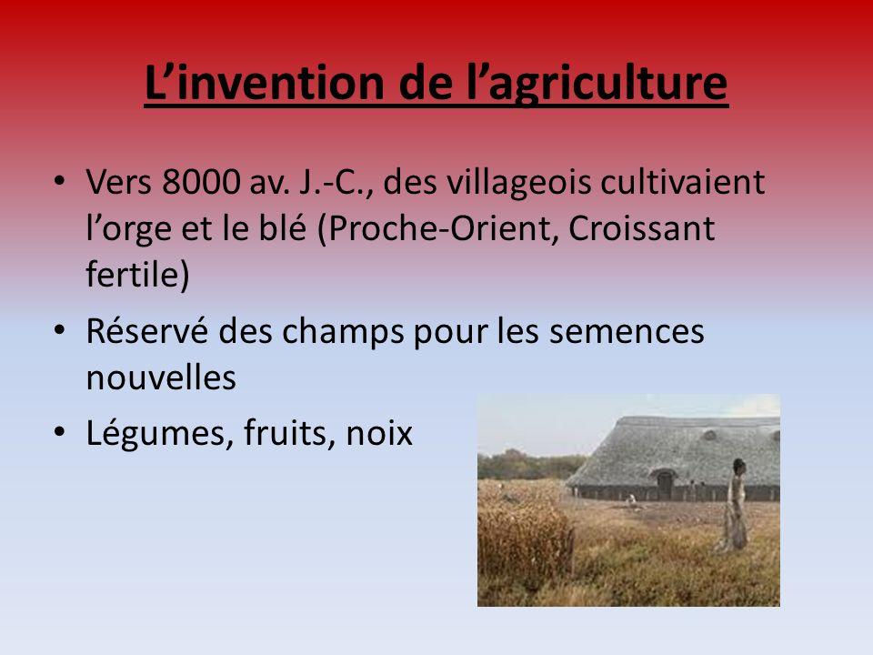 L'invention de l'agriculture