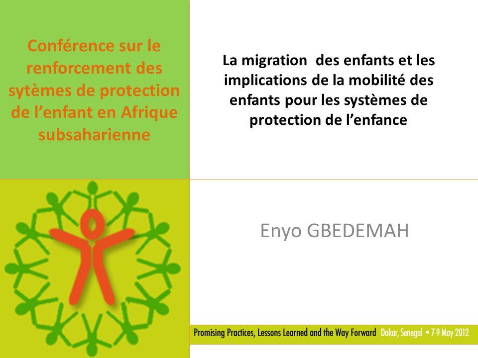 Conférence sur le renforcement des sytèmes de protection de l'enfant en Afrique subsaharienne