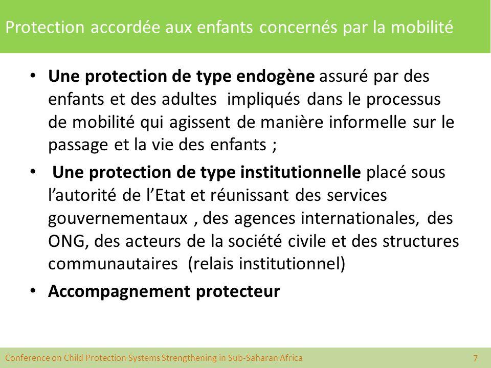 Protection accordée aux enfants concernés par la mobilité p