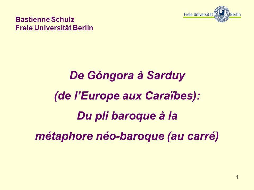 Bastienne Schulz Freie Universität Berlin