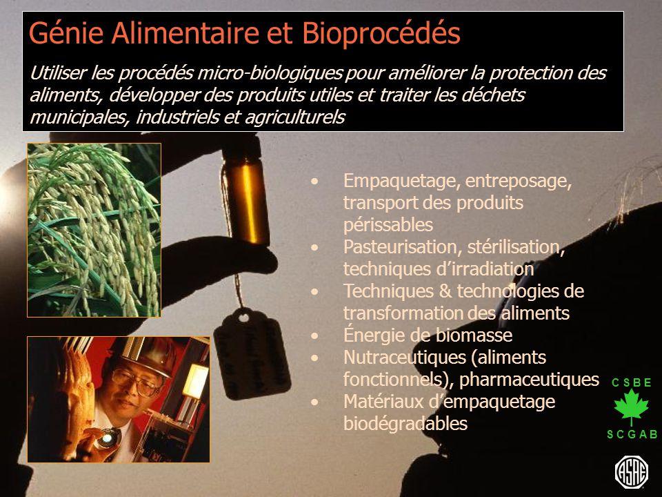Génie Alimentaire et Bioprocédés